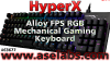 HyperX Alloy FPS RGB Mechanical Gaming Keyboard